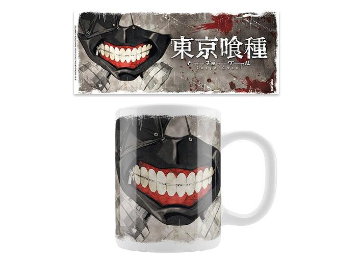 *NEW* Tokyo Ghoul Anime Large Ceramic Mug Ken Kaneki in Mask