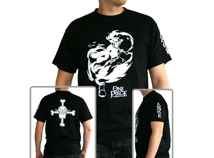 Ace Tribute T Shirt One Piece Otakustore Gr