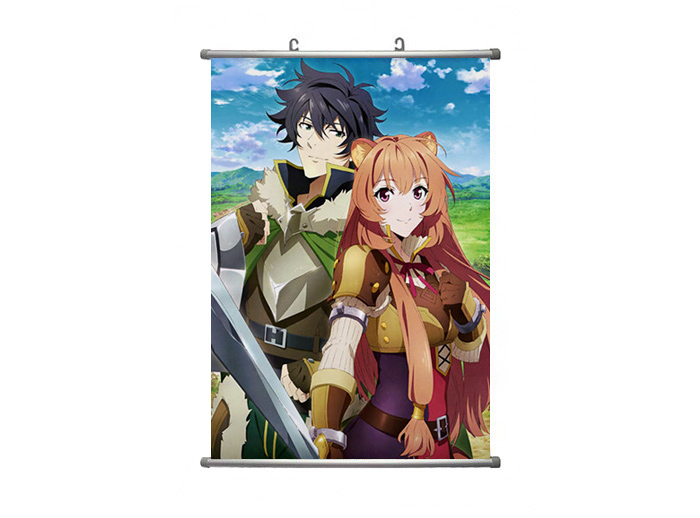 Anime The Rising of The Shield Hero Scroll Poster 60*90cm Wall Decor Home Decor