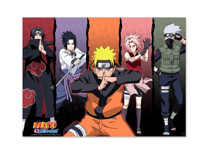 Characters Poster 52x38 Naruto Otakustore Gr