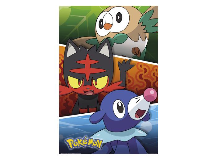 Alola Starters Poster 61x91 Pokemon Otakustore Gr