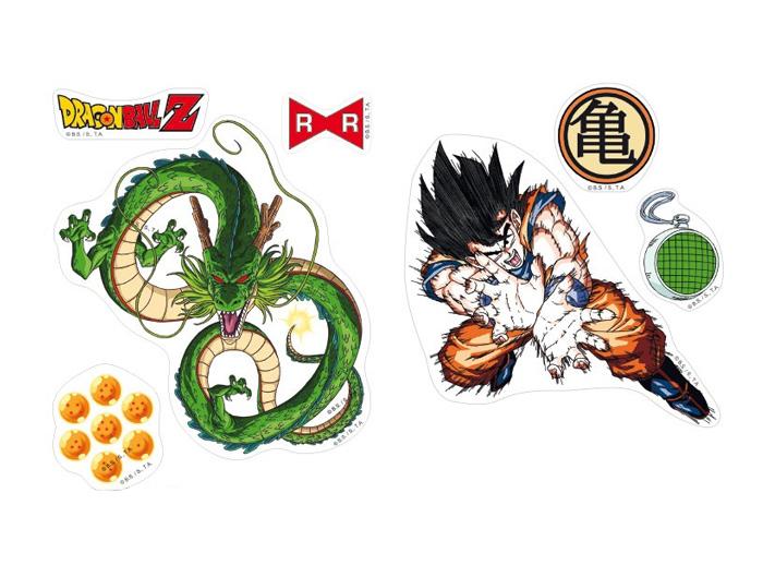 Dragon Ball STICKERS//ADESIVI cm 19 x 11