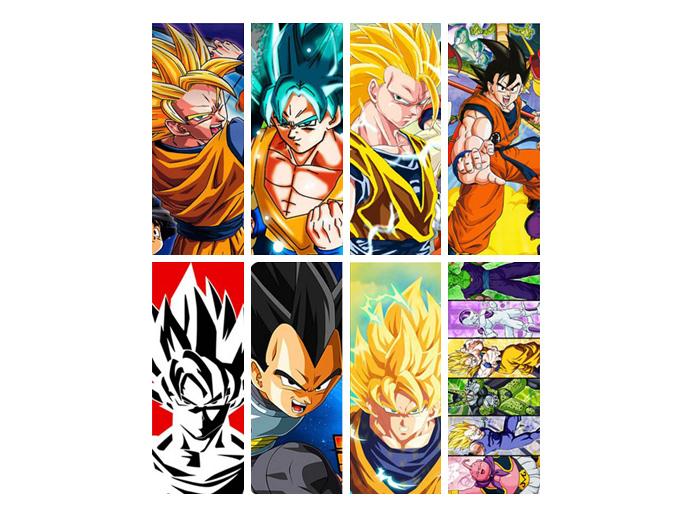 Dragon Ball Bookmarks Set X8 Dragon Ball Otakustore Gr
